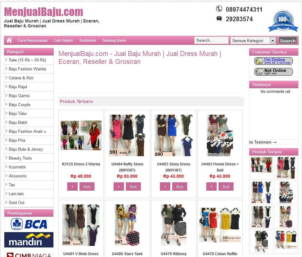menjualbaju.com